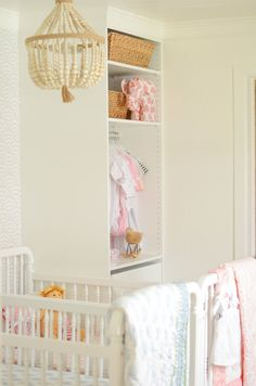 1c857987df52 Blogger Stylin' Home Tours | Favorite Room Edition Girls Headboard, Nursery  Twins, Happy