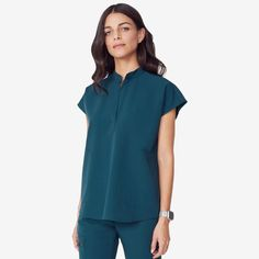 Shop FIGS for comfortable designer scrubs and medical apparel that's awesome. Get ready to love your scrubs! Dental Scrubs, Medical Scrubs, Doctor Scrubs, Filipino Fashion, Scrubs Outfit, Lab Coats, Scrub Pants, Scrub Tops, Mandarin Collar