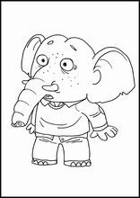 Den historien om den kjempestore pæra Fargelegging for barn Charlie Brown, Pear, Snoopy, Printables, School, Fictional Characters, Free Coloring Pages, Activities For Kids, Historia