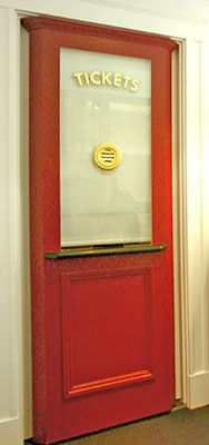Home Theater Box Office Door