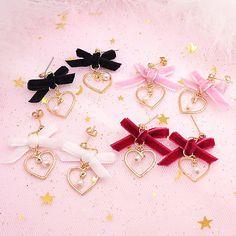"Sweet bowknot earrings SE9910      Coupon code ""cutekawaii"" for 10% off"
