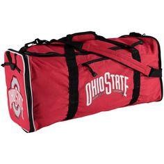3826b5099b The Northwest Company Ohio State Buckeyes Red Steal Logo Duffel Bag Ohio  State Gear