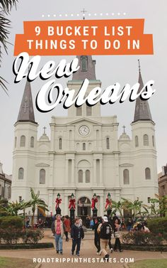 9 bucket list things to do in New Orleans 9 bucket list things to do in New Orleans! Click through for our New Orleans city guide on Road Trippin' The States. New Orleans Vacation, New Orleans City, New Orleans Travel, Trip To New Orleans, New Orleans Tourism, New Orleans Voodoo, Visit New Orleans, Mardi Gras, Places To Travel