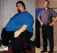 Resultado de imagem para pessoas gordas antes e depois