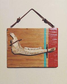 Bones Cry Out - Engraved Deer Jaw Bone - Landon...   Landon Sheely