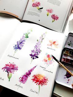 Verschiedene Blument