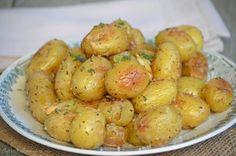 Pommes de terre grenaille rôties au four
