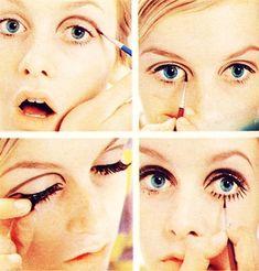 Mod style makeup | #Beauty #Makeup
