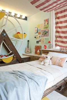 Boy's Circus Inspired Bedroom | Apartment Therapy