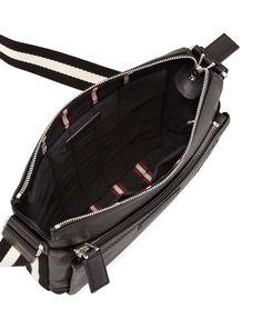 Trainspotting Men's Zip Messenger Bag, Black