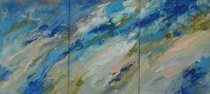 "Saatchi Art Artist Tanya Vasilenko; Painting, ""Aethereality, triptych, all parts."" 70x150 #art My artworks sized above 100 cm.  More at: https://www.facebook.com/artisttanyavasilenko/photos_stream?tab=photos_albums"
