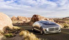 Monkey Motor: Este es el Mercedes Benz que se maneja solo, el F0...