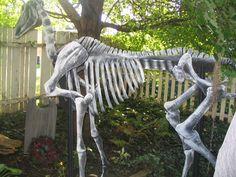 Plans for building a skeleton Horse
