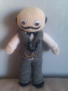 Hercule Poirot by Heidi.Sk, via Flickr