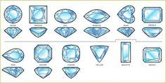 gem shapes