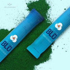 RevitaBlū™ is a botanical blend of blue-green algae, sea buckthorn berry and aloe vera with coconut water powder. Stem Cell Research, Green Algae, Me Time, Key Ingredient, Refreshing Drinks, Take Care Of Yourself, I Fall, Voss Bottle