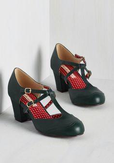 multi strap 1930s inspired shoes. Skip to My Luna Heel $71.99 AT vintagedancer.com