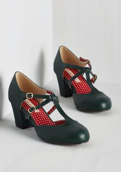 multi strap 1930s inspired shoes. Skip to My Luna Heel $71.99 AT vintagedancer.com