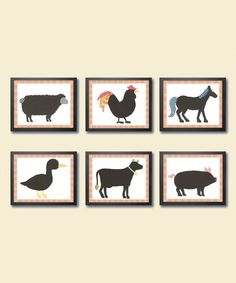 Another great find on #zulily! Old McDonald Had a Farm Print Set by Just Bunch Designs #zulilyfinds