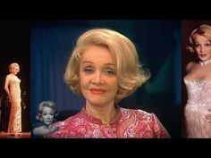 Marlene Dietrich, The Past, Interview, Vintage Fashion, Hollywood, Tv, Youtube, Television Set, Fashion Vintage