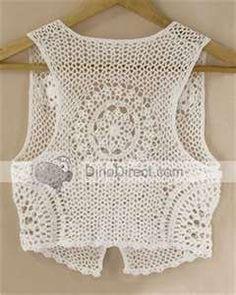Love crochet vest