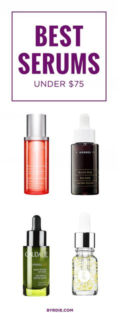 The best anti-aging serums under $75, according to beauty editors // via @byrdiebeauty