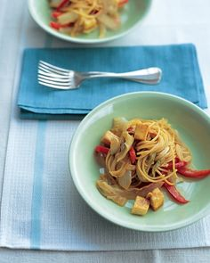 Tofu Stir-Fry with Noodles