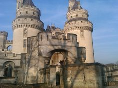 Castle in Compiegne, France