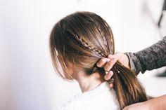 Peinado fácil para mujeres a la carrera