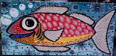 Funky White Tailed Fish by Gemmasgems on Etsy, $75.00