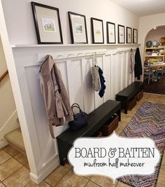 How to build a board and batten wall, hallway