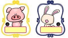 Printable Animal Labels