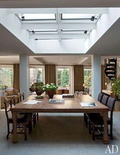 Sting's dining room | archdigest.com
