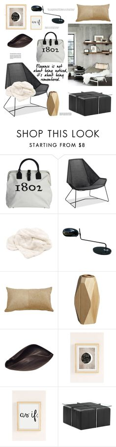 """Modern Elegance"" by barngirl ❤ liked on Polyvore featuring interior, interiors, interior design, home, home decor, interior decorating, Beekman 1802, Thos. Baker, Dot & Bo and CB2"