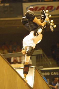 Tony Hawk is an amazing skateboarder!