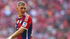 Bastian Schweinsteiger trains with ball but Bayern Munich uncertain on return