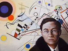 Vasiliy Kandinsky was the famous Russian artist and art theoretician. He was a great master and founder of abstract art. Kandinsky and his women. Wassily Kandinsky, Arte Elemental, Bauhaus Art, Franz Marc, Tribute, Art Abstrait, Elementary Art, Jamestown Elementary, Art Plastique