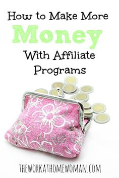 Are you looking to diversify your blogging income? Affiliate marketing can be a great way to increase your earnings, but you must have a solid marketing plan in place for it to work. If you want to make more money with your affiliate marketing efforts, make sure to focus on these areas. via The Work at Home Woman
