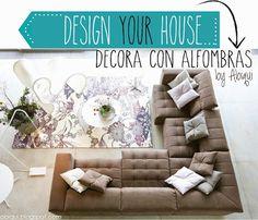 Con pequeños detalles puedes cambiar totalmente el ambiente de un espacio, DECORA CON ALFOMBRAS