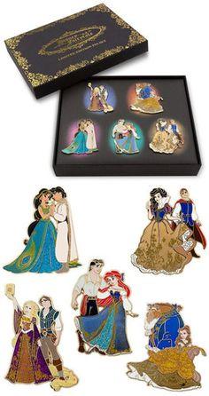 Disney Store D23 Fairytale Designer Princess Couples Snow White Pin Le 250 | eBay