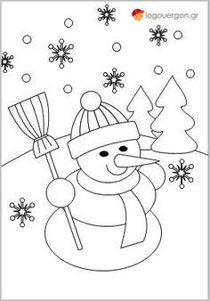 Ζωγραφίζοντας το χιονάνθρωπο Train Coloring Pages, Cute Girl Wallpaper, Cute Girls, Snowman, Snoopy, Kids Rugs, Christmas, Fictional Characters, Decor