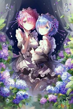Ram & Rem | Re Zero Kara Hajimeru Isekai Seikatsu #anime