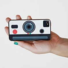 The Instant Camera iPhone Decal - I want one of these!!