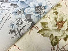 Landhuis vlies behang XXL EDEM 904-19 snelbehang romantisch textiel look bloemen vogels groen bruin 10,65 m2