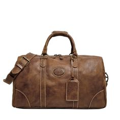 Small Banff Bag in Vintage Tribe Leather | Weekender Bags | Roots