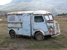 Camion Citroën pas frais