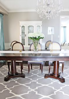 AM Dolce Vita: Spring Refresh - Part Une, dining table styling, dining room design