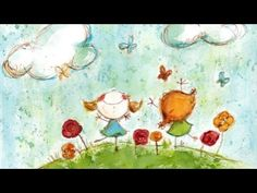 Happy Relaxing Guitar Music For Children - YouTube