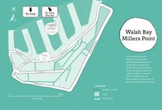 Your guide to Walsh Bay & Millers Point! #sydney #sydneycommunity #walshbay #millerspoint