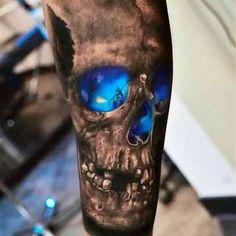 #skull, #tattoo